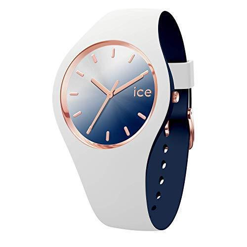 Ice-Watch - ICE duo chic White marine - Women's wristwatch with silicon strap - 016983
