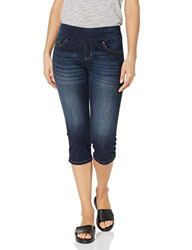 LEE Women's Sculpting Pull on Capri Jean, Nightgames, 8