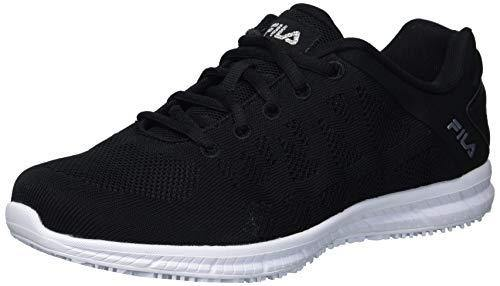 FILA Women's Work Health Care Professional Shoe, BLK/MSIL/WHT 6 M US