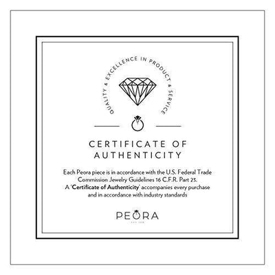 Peora Lab Grown Diamond 1 Carat Total Eternity Ring in 14K White Gold, Round Shape, E-F Color SI Clarity, Luxury Band for Women, 2mm width, Size 6.5