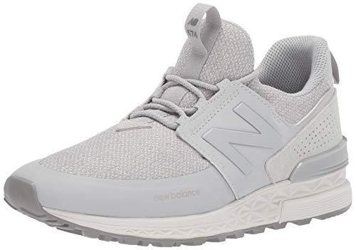 New Balance Women's Fresh Foam 574 Sport V1 Sneaker, Rain Cloud/Rain Cloud, 9 B US