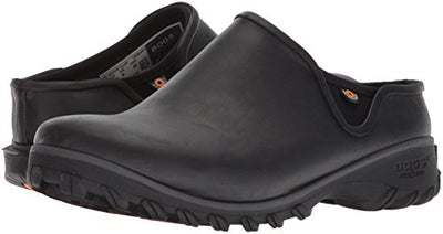 BOGS Women's Sauvie Chelsea Waterproof Garden Rain Shoe, Black, 7 Medium US