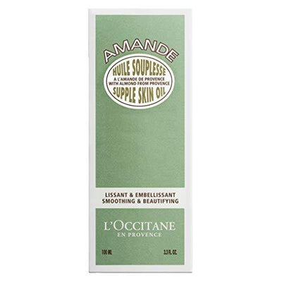 L'Occitane Almond Supple Skin Body Oil, 3.3 Fl Oz