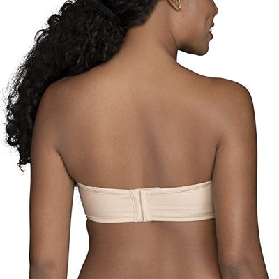 Vanity Fair Women's Beauty Back Strapless Full Figure Underwire Bra 74380, Rose Beige, 38D