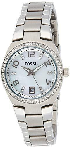Fossil Women's Serena Analog-Quartz Stainless-Steel Strap, Two Tone, 16 Casual Watch