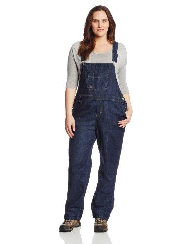 Dickies Women's Denim Bib Overall, Dark Indigo Blue, 24W Regular - PRTYA