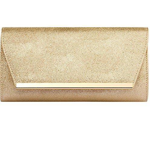 Womens Evening Clutch Bridal Prom Handbag shoulder bag Wedding Purse Party Bag