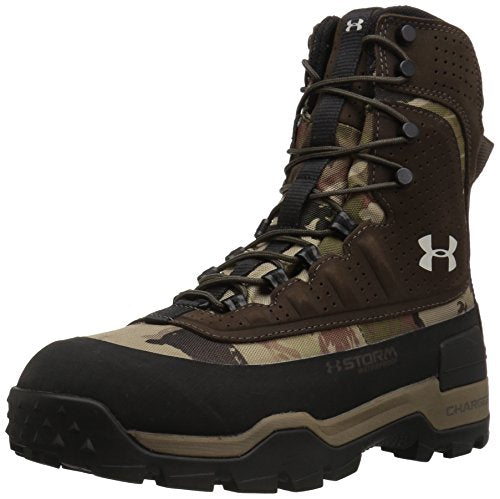 Under Armour Women's Browe 2.0 400G Ankle Boot, Ridge Reaper Camo Ba (901)/Maverick Brown, 10
