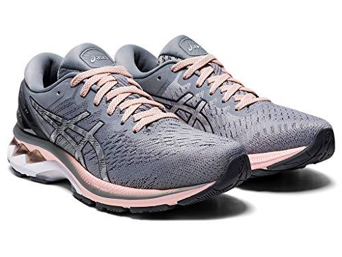 ASICS Women's Gel-Kayano 27 Running Shoes, 8.5M, Sheet Rock/Pure Silver - PRTYA