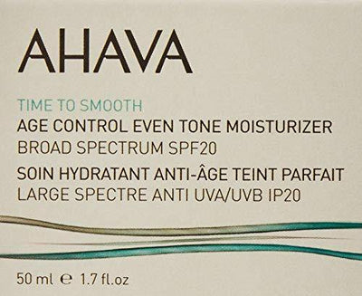 AHAVA Time To Smooth Age Control Even Tone Moisturizer, 1.7 Fl Oz