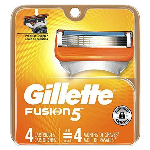 Gillette Fusion5 Men's Razor Blades - Cartridge Refills (Packaging May Vary), Mens Razors/Blades