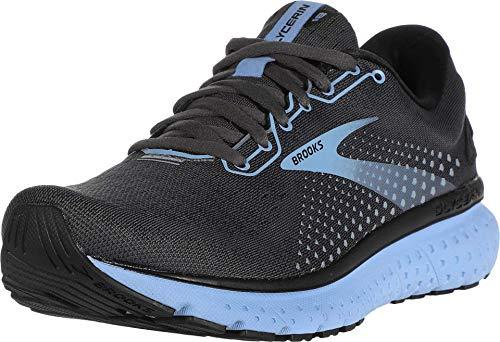 Brooks Women's Glycerin 18, Black/Blue, 8.5 Medium - PRTYA