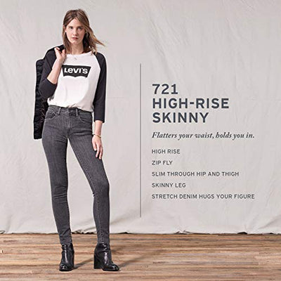 Levi's Women's 721 High Rise Skinny Jeans, Take Me Out, 28 (US 6)