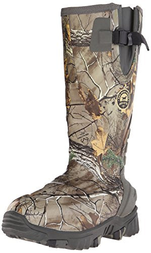 "Irish Setter Women's 4887 Rutmaster 2.0 15"" 1200-Gram Rubber Hunting Boot, Real Tree Camo, 8 E US"