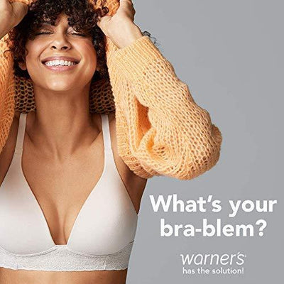 Warner's Women's This is Not a Bra Full-Coverage Underwire Bra, Toasted Almond, 36D