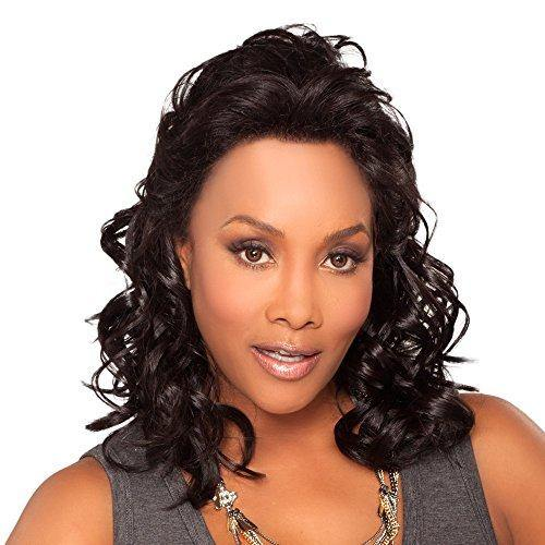 Vivica A. Fox JOANNA-V Synthetic Fiber, Deep Lace Front Wig in Color P42730