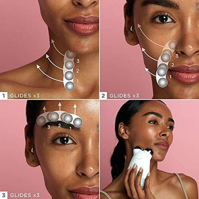 NuFACE Mini Petite Facial Toning Device, Mini Device + Hydrating Leave-On Gel Primer, Handheld Skin Care Device to Lift Contour Tone Skin + Reduce Look of Wrinkles, FDA-Cleared At-Home System