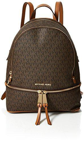 MICHAEL Michael Kors Rhea Zip Medium Backpack Brown One Size