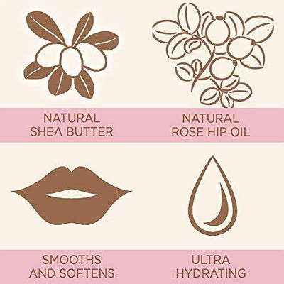 Ultra Hydrating Lip Butter by Tree Hut Sugarlips Lip Care | 0.52oz Tube | Moisturizer Lip Balm with Natural Shea Butter | Dry Lips Chap Treatment for Women and Men