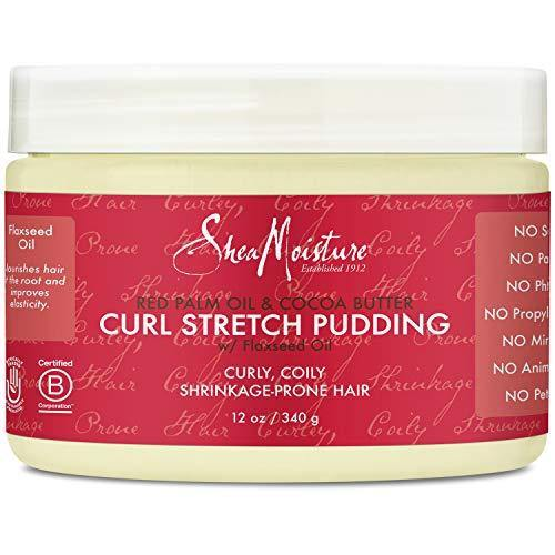 SheaMoisture Red Palm Oil & Cocoa Butter Curl Stretch Pudding Styler, 12 Ounce