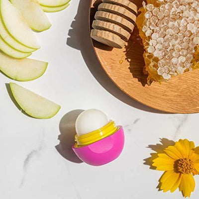 eos Super Soft Shea Lip Balm - Honey Apple | 24 Hour Hydration | Lip Care to Moisturize Dry Lips | Gluten Free | 0.25 oz