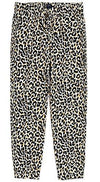 J. Crew Women's Relaxed-Fit Drawstring Pants (14, Leopard Animal Print)