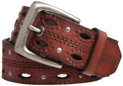 Carhartt Women's Signature Casual Belt, DearBorn Brown, Medium
