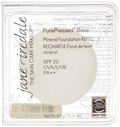 Jane Iredale Purepressed Base Mineral Powder, Golden Glow, .35 Ounce