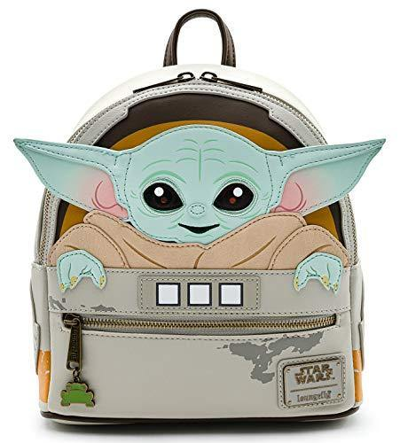 Loungefly Star Wars Baby Yoda in Crib The Mandalorian Womens Double Strap Shoulder Bag Purse