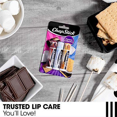 ChapStick S'mores Collection 3- 0.15 Oz. Sticks