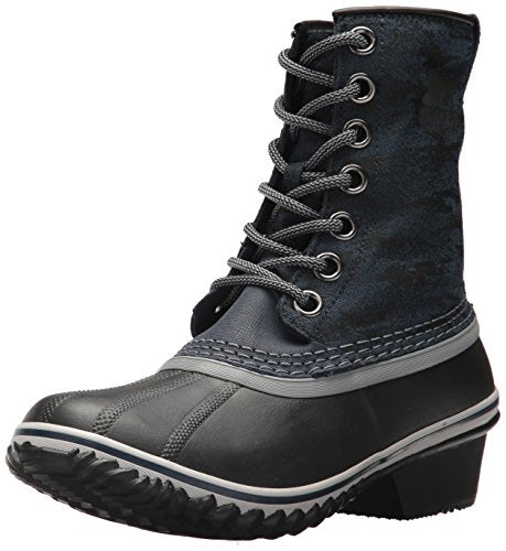Sorel Women's Slimpack 1964 Snow Boot, Collegiate Navy, Black, 5.5 M US