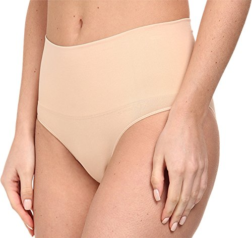 Spanx Women's Everyday Shaping Panties Seamless Panty Soft Nude Briefs SM