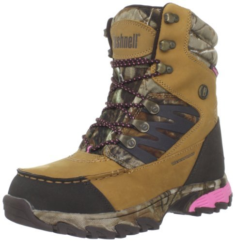 Bushnell Women's Xlander Hunting Boot,Tan Real Tree,5.5 M US