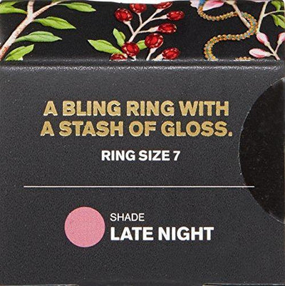 butter LONDON Plush Rush Lip Gloss Ring, Late Night