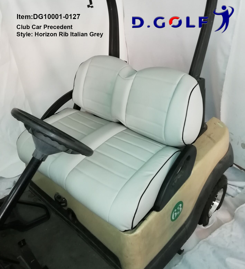 D GOLF Club Car Precedent Luxury Seat Cover Precedent Italian Grey-Ship with free TNT!