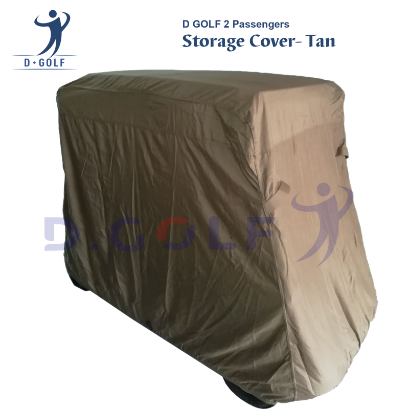 D GOLF universal 2 Pass storage cover-Tan-Ship with free TNT!