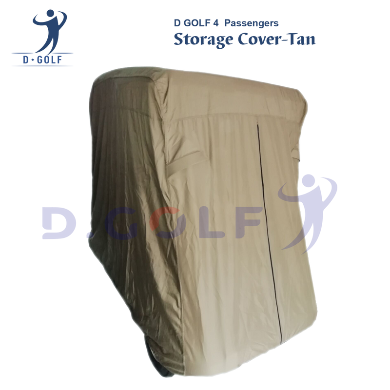 D GOLF universal 4  Passengers storage cover-Tan-Ship with free TNT!