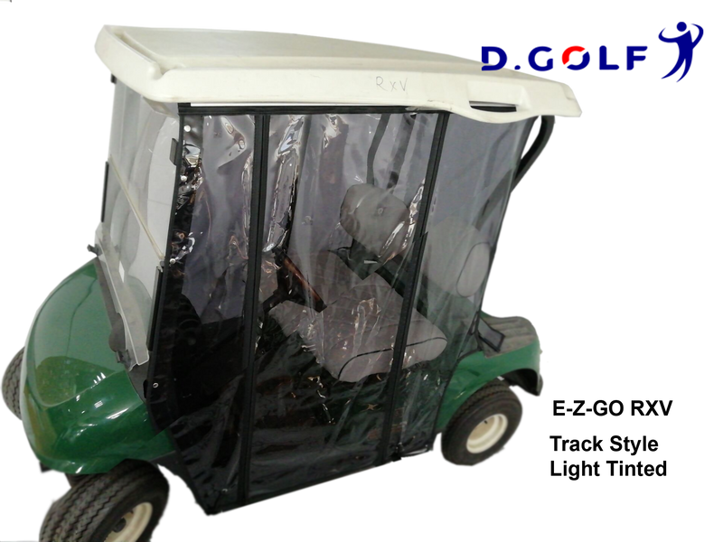 Track Style Enclosure E-Z-GO RXV Light Tinted