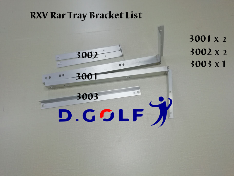E-Z-GO RXV Bracket for Universal Rear Plastic Tray-Ship with free TNT!