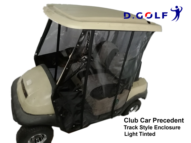Track Style Enclosure Club Car Precedent Light Tinted-Ship with free TNT!