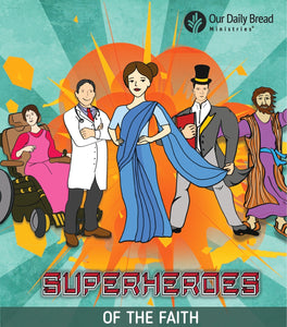 Superheroes of the Faith - Kids from 6-12 yrs