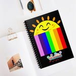 SunRainbow Spiral Notebook - Ruled Line