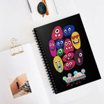 The Family Emoji 1 Spiral Notebook - Ruled Line