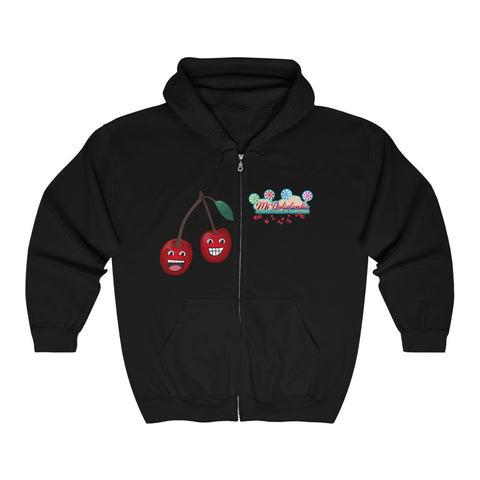 Cherry Bros Zip Hooded Sweatshirt