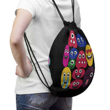 The Family  Emoji 1 Drawstring Bag