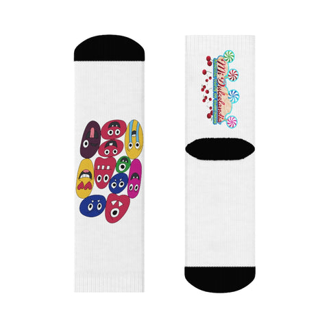 The Family Emoji 1 Socks