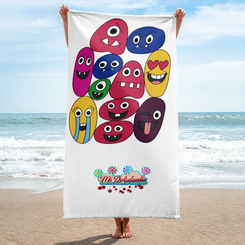 The Family Emoji 1 Towel