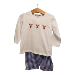 Reindeer Boy Long Set