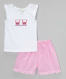 Crab Shorts Set
