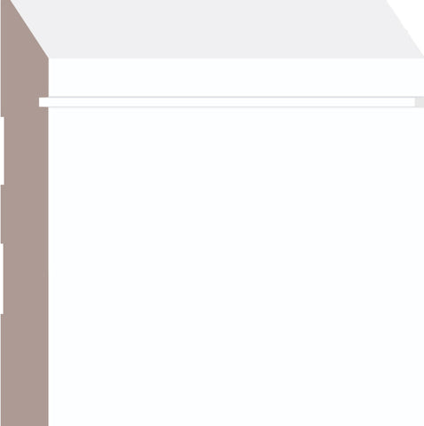 "5-1/2"" MDF Prmd Baseboard BB138 - 16FT PC"
